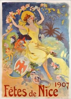 Fêtes de Nice, 1907 de Jules Chéret