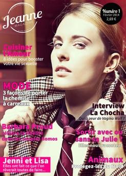 Jeanne Magazine n°1 (février 2014)