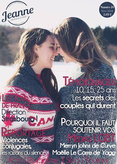 Jeanne Magazine n°34 (novembre 2016)
